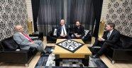 KARDEŞ ŞEHİR BAŞKANI PETERMANN'DAN ZİYARET