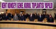 KENT KONSEYİ GENEL KURUL TOPLANTISI YAPILDI