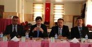 MİLLİ EĞİTİM MÜDÜRLERİ DİNAR'DA TOPLANDI