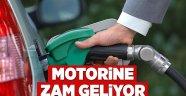 MOTORİNE ZAM GELDİ!