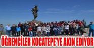 ÖĞRENCİLER KOCATEPE'YE AKIN EDİYOR