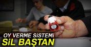 OY VERME İŞLEMİ SİL BAŞTAN!..