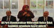 ÖZKAL SANDIKLI'DA BİR DİZİ ZİYARETLERDE BULUNDU