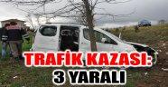 SANDIKLI'DA TRAFİK KAZASI: 3 YARALI