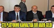 STK PLATFORMU KAHVALTIDA BİR ARAYA GELDİ