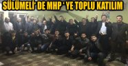 SÜLÜMELİ' DE MHP ' YE TOPLU KATILIM