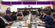 TARIM BAKANI FAKIBABA BOLVADİN'DE
