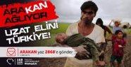 TÜRK KIZILAYI AFYONKARAHİSAR ŞUBESİ'NDEN, 'ARAKAN' AÇIKLAMASI