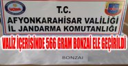 VALİZ İÇERİSİNDE 566 GRAM BONZAİ ELE GEÇİRİLDİ
