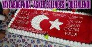 """YAYLABAĞI'NDA """"ASKER EĞLENCESİ """"DÜZENLENDİ"""