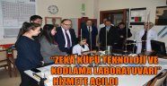 """""""ZEKÂ KÜPÜ TEKNOLOJİ VE KODLAMA LABORATUVARI"""" HİZMETE AÇILDI"""
