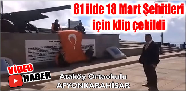 ATAKÖY ORTAOKULU 18 MART KLİBİ