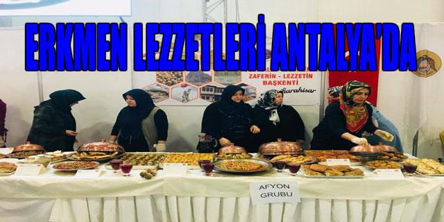 ERKMEN LEZZETLERİ ANTALYA'DA