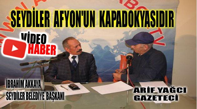 Seydiler Belediye Başkanı : SEYDİLER  AFYONKARAHİSAR'IN KAPADOKYASIDIR.