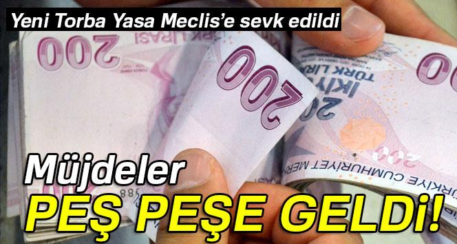 YENİ TORBA YASA MECLİS'E SEVK EDİLDİ
