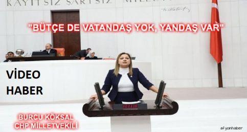 MİLLETVEKİLİ BURCU KÖKSAL, 2019 BÜTÇESİ KONUŞMASI